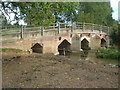 SP7335 : Leckhampstead Road Bridge, Thornborough by Mr Biz
