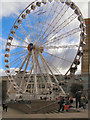 SJ8398 : The Manchester Wheel, Exchange Square by David Dixon