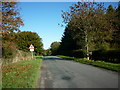SE9262 : A minor road towards Sledmere by Ian S