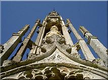 ST7733 : Detail of Bristol Cross, Stourhead by Neil Owen