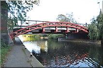 SK5803 : Canal Bridge by Ashley Dace