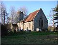 TM2078 : Syleham St Margaret's church by Adrian S Pye