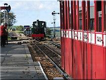 SS6846 : Lynton and Barnstaple engine at Woody Bay Station by Sarah Charlesworth