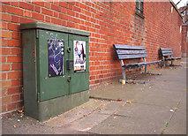 J5081 : Telephone junction box, Bangor by Rossographer