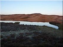 SH8514 : Llyn Foeldinas at dawn by Richard Law