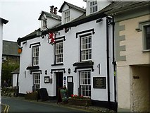 SD3598 : Red Lion Pub, Hawkshead by Keith Salvesen