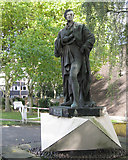 SP0684 : Statue of Peel, Pershore Road by Robin Stott