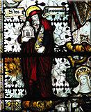 TG4802 : All Saints' church in Belton - east window (detail) by Evelyn Simak