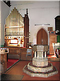 TG4802 : All Saints' church in Belton - the organ by Evelyn Simak
