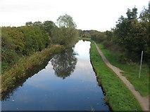 SK0101 : Reflections on the Wyrley and Essington Canal by Alex McGregor