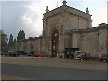 SP4416 : Entrance to Blenheim Palace by Paul Gillett