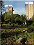 NZ2364 : Westgate Hill General Cemetery by Trevor Littlewood