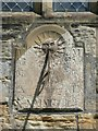 NU2406 : Sundial on St Laurence's Church, Warkworth by Humphrey Bolton