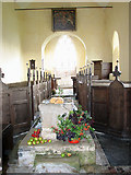 TF7633 : All Saints' church in Bircham Newton - view east by Evelyn Simak