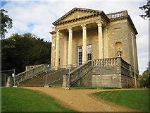 SP6737 : Stowe: Queen's Temple by Nigel Cox
