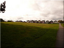 SZ0895 : Redhill: houses face onto Redhill Common by Chris Downer
