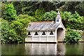 SW6430 : Trevarno Lake, Victorian Boathouse by David Dixon