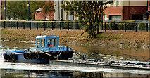 J3473 : Dredging the River Lagan, Belfast -  2010/11 (39) by Albert Bridge
