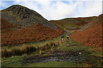 NY3404 : Another boggy patch on Loughrigg Fell by Bill Boaden