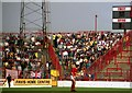 SK5838 : The visitors' terrace at the City Ground by Steve Daniels