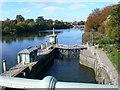 TQ1775 : Richmond Lock by Eirian Evans