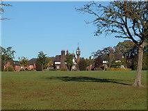 SJ6855 : Queen's Park clocktower and gatehouses. by Margaret Sutton