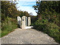 SW6541 : Footpath into Tuckingmill Valley Park by Rod Allday
