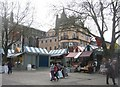 TG2208 : View of Norwich market by Given Up