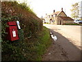ST7622 : Kington Magna: postbox № SP8 69, South Street by Chris Downer