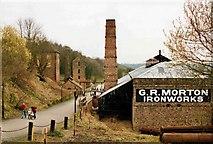 SJ6903 : G.R Morton, Ironworks, Blists Hill Museum by Paul Buckingham