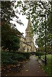 TQ3283 : St James, Prebend Street, London N1 by John Salmon
