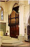 TQ3283 : St James, Prebend Street, London N1 - Organ by John Salmon