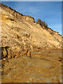 TM5281 : The crumbling cliffs at Covehithe by Evelyn Simak