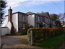 TQ1450 : Cottages on Ranmore Common Road by Shazz