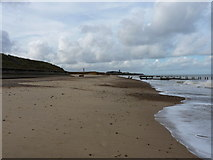 TG3930 : The last couple of groynes from Cart Gap to Happisburgh by Richard Law