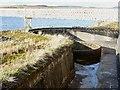 NZ0493 : Reservoir overflow by Joan Sykes