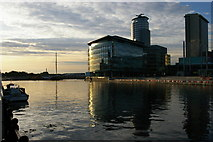 SJ8097 : Salford Quays by Christopher Hilton