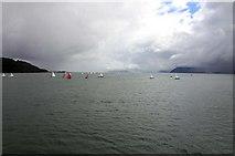 SH5873 : The Menai Strait at Bangor by Steve Daniels
