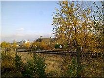 SU1484 : The railway into Swindon by Brian Robert Marshall