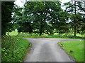 NY3747 : Junction near Holmehill by Alexander P Kapp