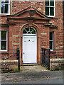 NY3647 : Hawksdale Lodge, Doorway by Alexander P Kapp