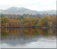 NN9357 : Loch Faskally by Russel Wills