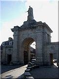 SX4653 : Main Gate, Royal William Victualling Yard by Rob Farrow