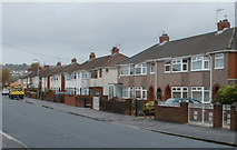 ST3487 : East side of Greenmeadow Road, Newport by Jaggery