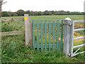 TM5184 : Gate on the Suffolk Coast Path by Evelyn Simak