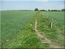 SE2526 : Footpath off Bruntcliffe Road, Morley by Humphrey Bolton