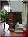 NY6208 : All Saints Church, Orton, Pulpit by Alexander P Kapp