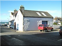 NX0054 : Junction of Main Street and St. Patrick Street by Ann Cook
