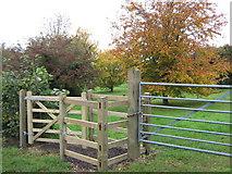 TR2648 : Kissing Gate near Meadow View Drive by David Anstiss