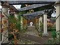 ST3087 : Pergola, Belle Vue park by Robin Drayton